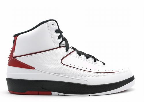 Air Jordan 2 White Varsity Red